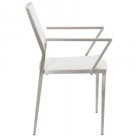 Fauteuil design VENDOME Blanc