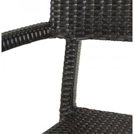 Fauteuil design BRAID Noir