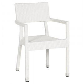 Fauteuil design BRAID Blanc
