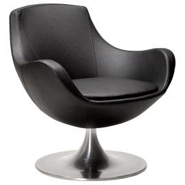 Fauteuil design RAOUL Noir