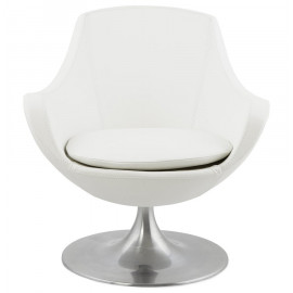 Fauteuil design RAOUL Blanc