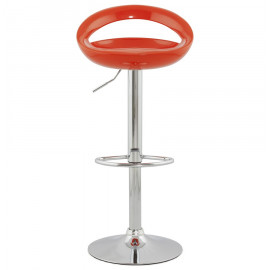 Tabouret de bar design VENUS Orange