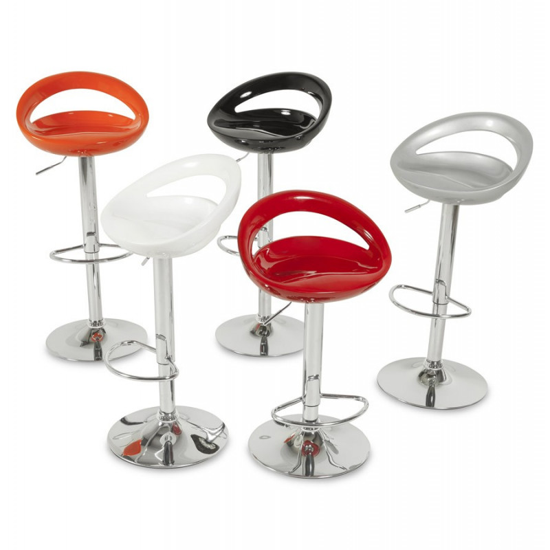tabouret de bar design venus orange. Black Bedroom Furniture Sets. Home Design Ideas