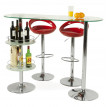 Tabouret de bar design VENUS Rouge