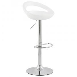 Tabouret de bar design VENUS Blanc