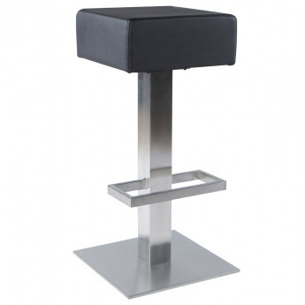 Tabouret de bar design NOBLE Noir