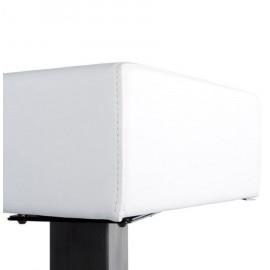 Tabouret de bar design NOBLE Blanc