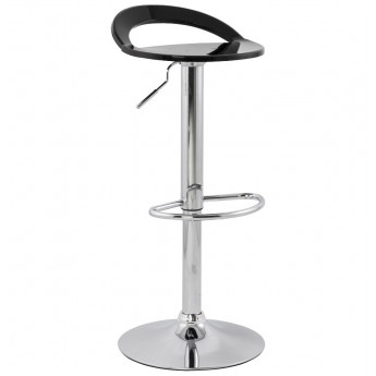 Tabouret de bar design GHOST Noir