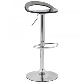 Tabouret de bar design GHOST Gris