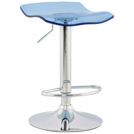 Tabouret de bar design SURF Bleu