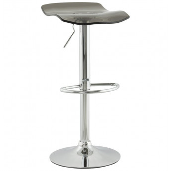 Tabouret de bar design SURF Gris