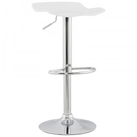 Tabouret de bar design SURF Blanc