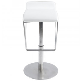 Tabouret de bar design STRONG Blanc