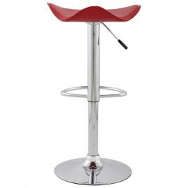 Tabouret de bar design TRIO Rouge