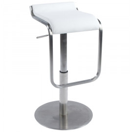 Tabouret de bar design MODENA Blanc