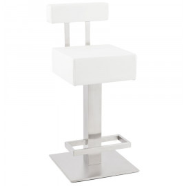 Tabouret de bar design NOBLE MINI Blanc