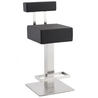 Tabouret de bar design NOBLE MINI Noir