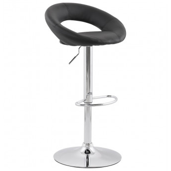Tabouret de bar design ATLANTIS Noir