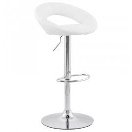 Tabouret de bar design ATLANTIS Blanc