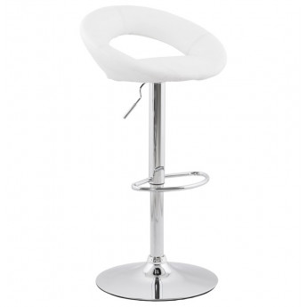 Tabouret de bar design ATLANTIS Blanc