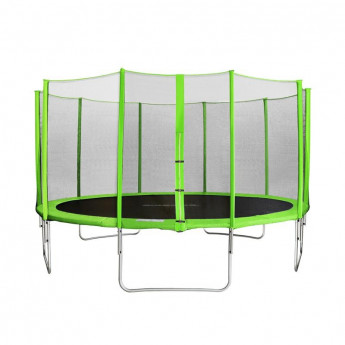 Trampoline de jardin vert MyJump 4,30 M